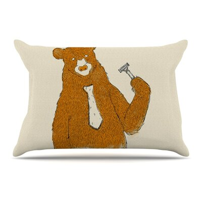 Tobe Fonseca Work Bear Pillow Case