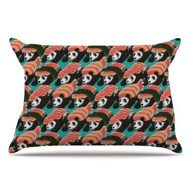 Tobe Fonseca Sushi Panda Pillow Case