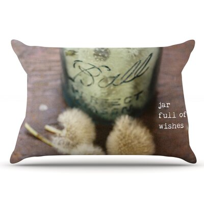Debbra Obertanec Jar Of Wishes Fuzzy Pillow Case