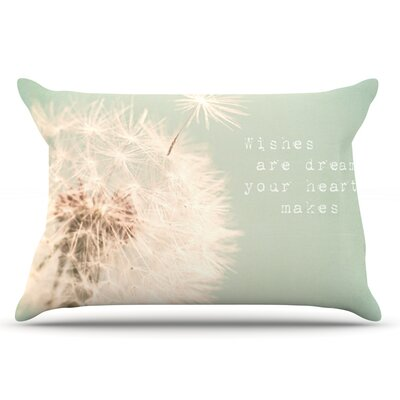 Debbra Obertanec Wishes Are Dreams Fuzzy Pillow Case