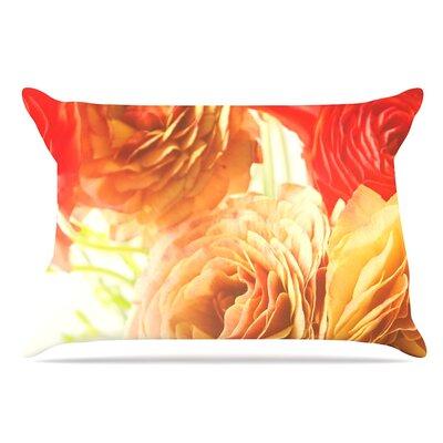 Debbra Obertanec Springtime Ranunculus Floral Pillow Case