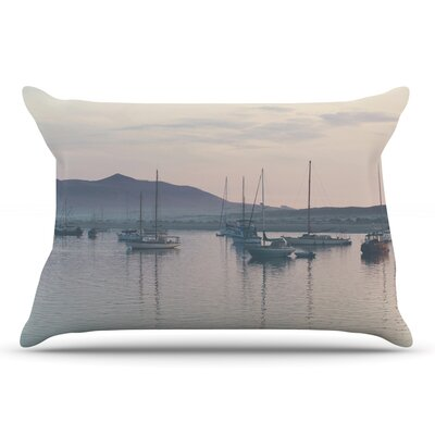 Laura Evans As The Sun Goes Down Pastel Pillow Case