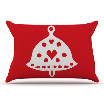 Miranda Mol Jingle Bell Holiday Pillow Case
