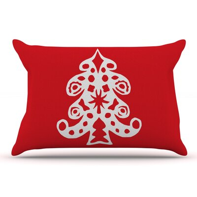 Miranda Mol Noble Pine Holiday Pillow Case