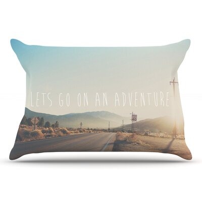Laura Evans LetS Go On An Adventure Pillow Case