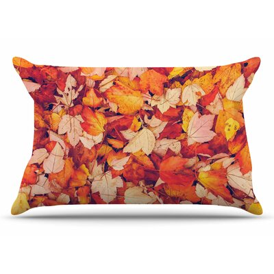 Debbra Obertanec Scarlet Red Crimson Pillow Case