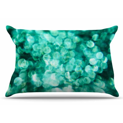 Debbra Obertanec Teal Mayhem Pillow Case