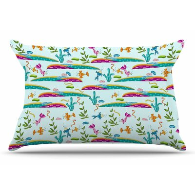Alisa Drukman Under Sea Pillow Case