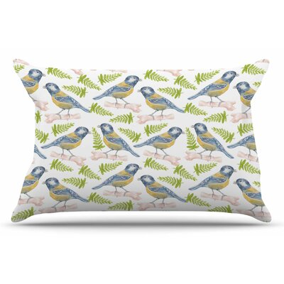 Alisa Drukman Bird. Tit Pillow Case