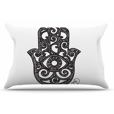 Adriana De Leon Hamsa Hand Pillow Case