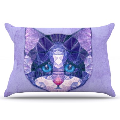 Ancello Cute Kitten Cat Pillow Case