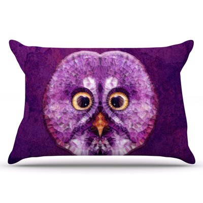 Ancello Hoot! Owl Pillow Case