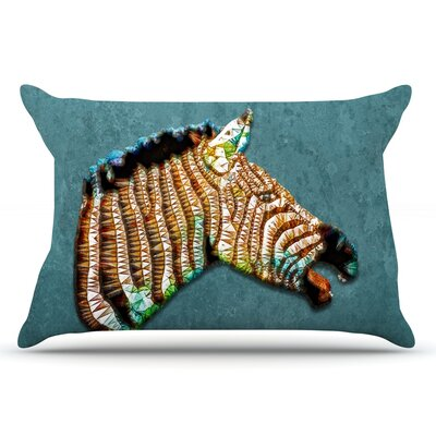 Ancello Laughing Zebra Pillow Case