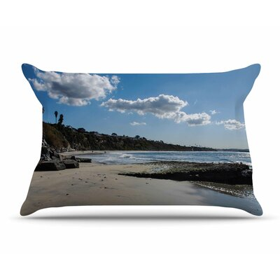 Nick Nareshni Clouds Over Swamis Beach Pillow Case