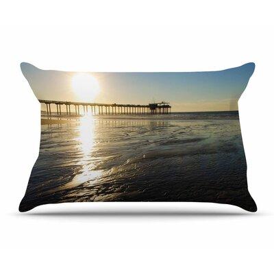 Nick Nareshni Sun Over Scripps Pier Pillow Case