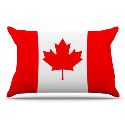 Bruce Stanfield Flag Of Canada Pillow Case