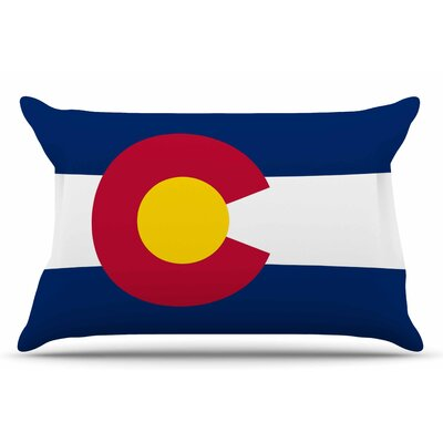 Bruce Stanfield Flag Of Colorado Ii Pillow Case