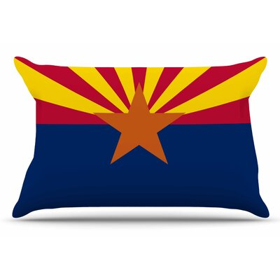 Bruce Stanfield Flag Of Arizona Pillow Case