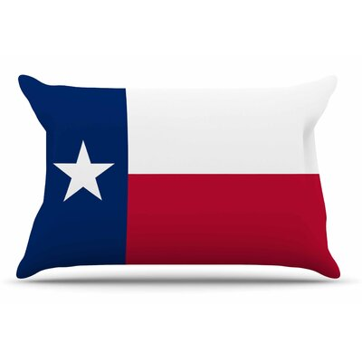 Bruce Stanfield Flag Of Texas Pillow Case