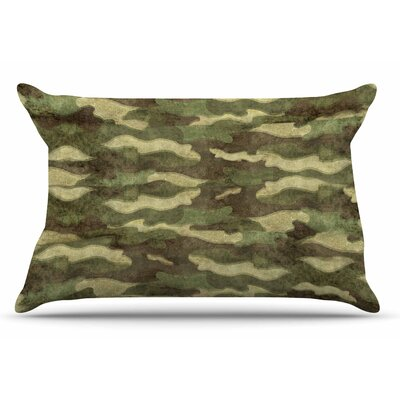 Bruce Stanfield Dirty Camo Pillow Case