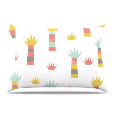 Alik Arzoumanian Tropical Pastel Pillow Case