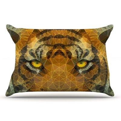 Ancello Be Wild Geometric Pillow Case