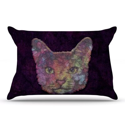 Ancello Cat Pastel Pillow Case