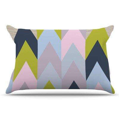 Suzanne Carter Woodgrain Geometric Pillow Case