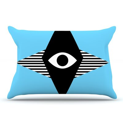 Vasare Nar Eye Graphic Pillow Case