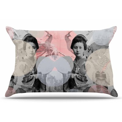 Suzanne Carter Kyoto Girl Pastel Pillow Case