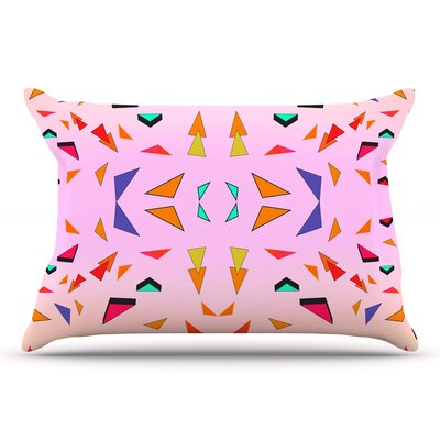 Vasare Nar Candy Land Tropical Geometric Pillow Case