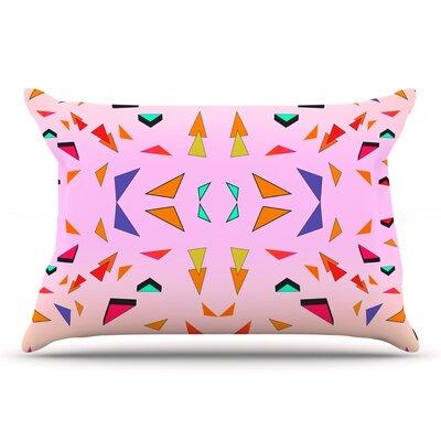 Vasare Nar Candy Land Tropical Geometric Pillow Case