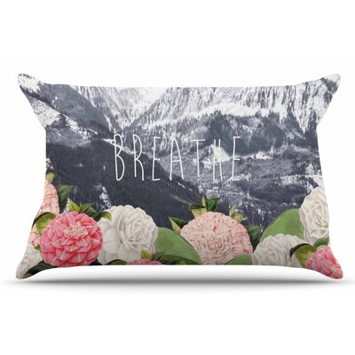 Suzanne Carter Breathe Floral Landscape Pillow Case