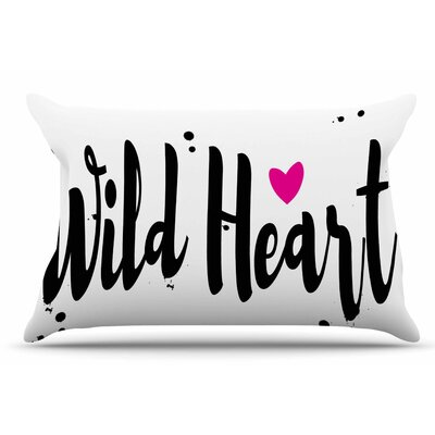 Suzanne Carter Wild Heart2 Digital Pillow Case