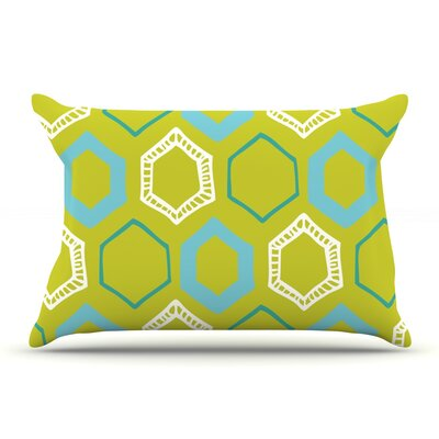 Laurie Baars Hexy Lime Pillow Case