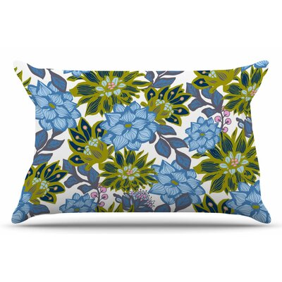 Amy Reber Dahlias Floral Pillow Case