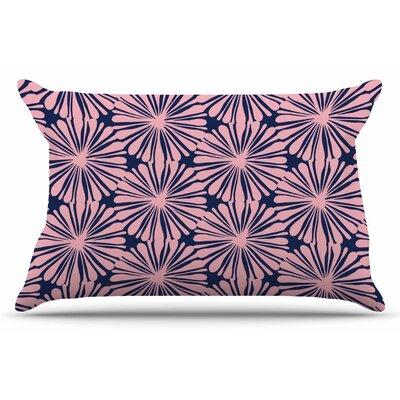Amy Reber Pink Daisy Pillow Case