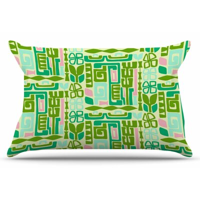 Amy Reber Maze Vector Pillow Case