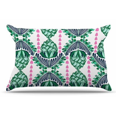 Amy Reber Tassles Line Illustration Pillow Case