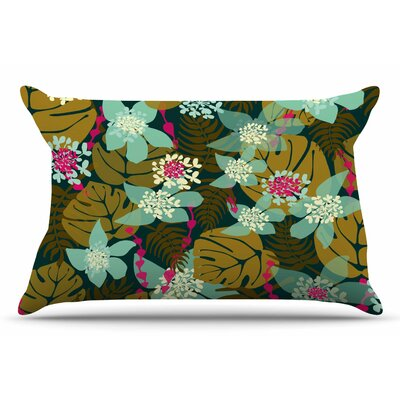 Amy Reber Tropical Tropical Floral Pillow Case