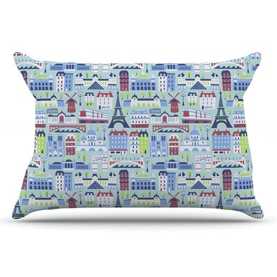Allison Beilke JAdore Paris France Pillow Case