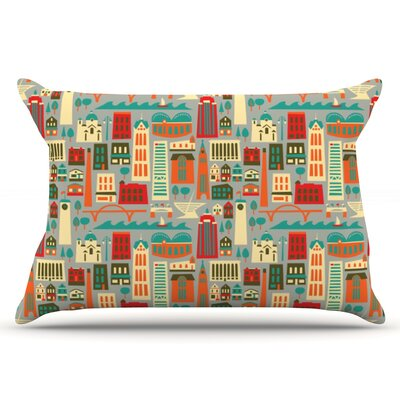 Allison Beilke My Fair Milwaukee City Pillow Case