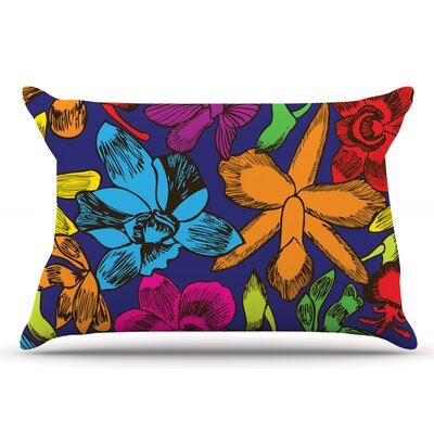 Billington Lovely Orchids Floral Pillow Case