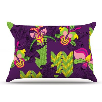 Billington Orchids Festival Pillow Case