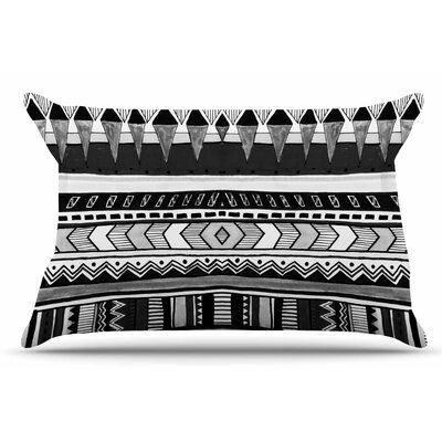 Vasare Nar Tribal And White Geometric Pillow Case