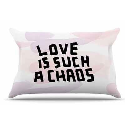 Vasare Nar Love Is Such A Chaos Pastel Pillow Case