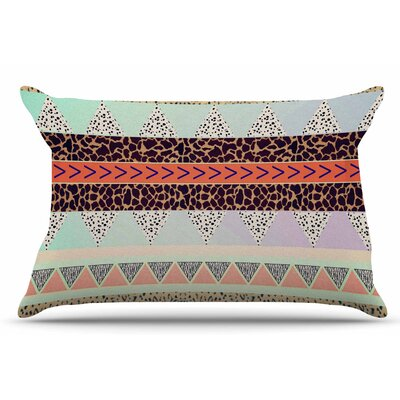 Vasare Nar Animal Print Tribal Pastel Pillow Case