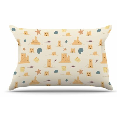 Stephanie Vaeth Sandcastles Pillow Case