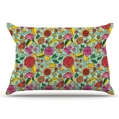 Allison Beilke Garden Variety Flowers Pillow Case