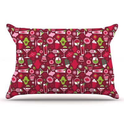 Allison Beilke Holiday Spirits Holiday Pillow Case